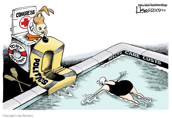Cartoonist Lisa Benson  Lisa Benson's Editorial Cartoons 2009-09-09 congress health care
