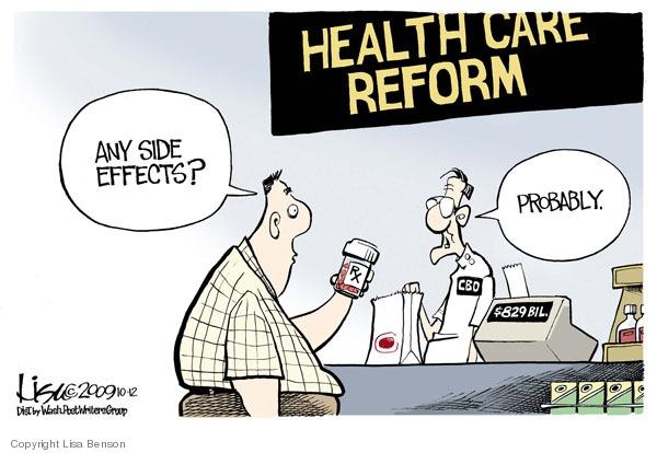 Cartoonist Lisa Benson  Lisa Benson's Editorial Cartoons 2009-10-12 congress health care