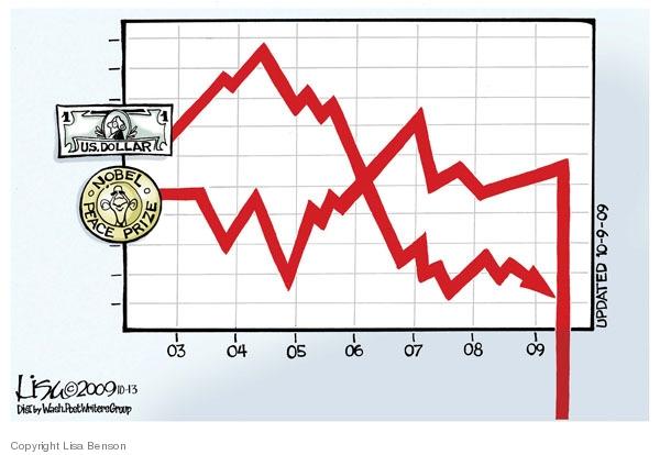 Lisa Benson  Lisa Benson's Editorial Cartoons 2009-10-13 decline