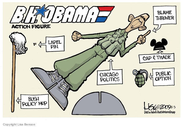 Cartoonist Lisa Benson  Lisa Benson's Editorial Cartoons 2009-11-03 cap