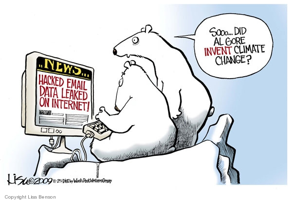 Hacked Email Data Leaked on Internet!  Sooo … Did Al Gore invent climate change?