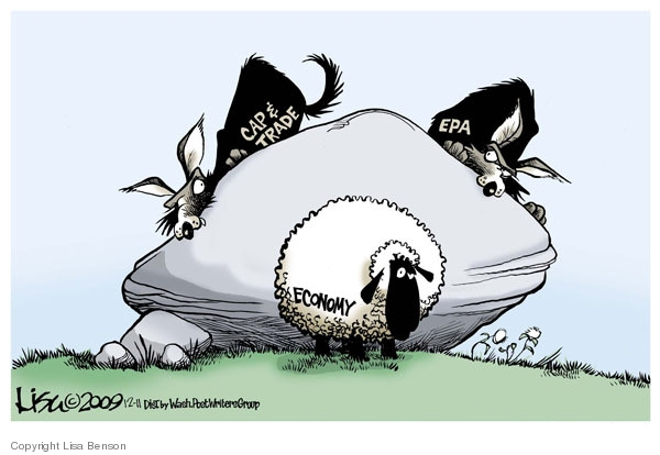 Cartoonist Lisa Benson  Lisa Benson's Editorial Cartoons 2009-12-11 environmental protection
