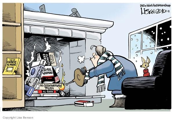 Cartoonist Lisa Benson  Lisa Benson's Editorial Cartoons 2010-01-11 book