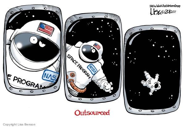 Cartoonist Lisa Benson  Lisa Benson's Editorial Cartoons 2010-02-02 NASA