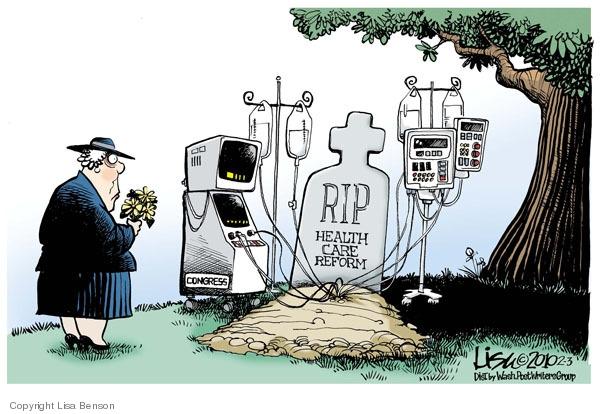 Congress.  RIP.  Health Care Reform.