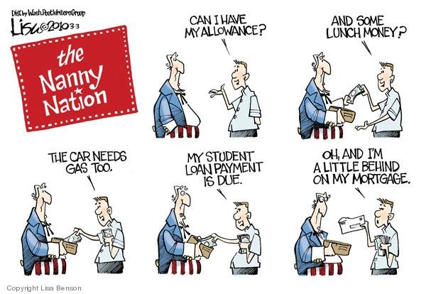 Lisa Benson  Lisa Benson's Editorial Cartoons 2010-03-03 mortgage