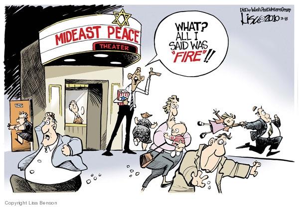 Lisa Benson  Lisa Benson's Editorial Cartoons 2010-03-18 United States and Israel