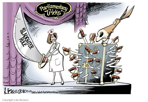 Cartoonist Lisa Benson  Lisa Benson's Editorial Cartoons 2010-03-19 House of Representatives