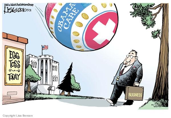 Lisa Benson  Lisa Benson's Editorial Cartoons 2010-03-31 tax deduction