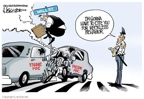 Cartoonist Lisa Benson  Lisa Benson's Editorial Cartoons 2010-04-26 economic downturn
