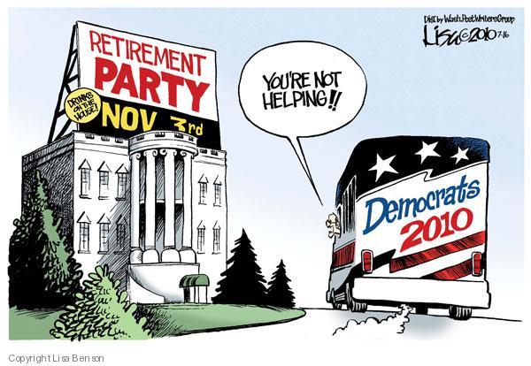 Cartoonist Lisa Benson  Lisa Benson's Editorial Cartoons 2010-07-16 House of Representatives