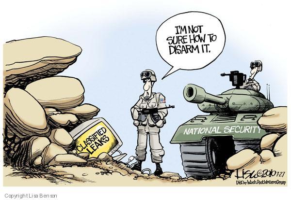 Cartoonist Lisa Benson  Lisa Benson's Editorial Cartoons 2010-07-27 security