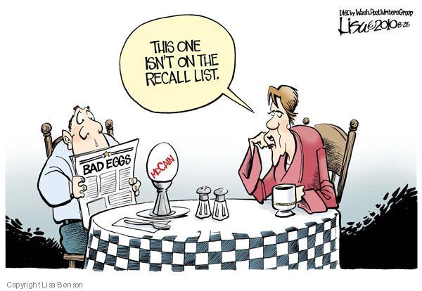 Cartoonist Lisa Benson  Lisa Benson's Editorial Cartoons 2010-08-28 senator