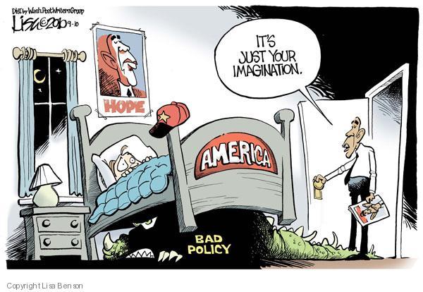Cartoonist Lisa Benson  Lisa Benson's Editorial Cartoons 2010-09-10 Presidency
