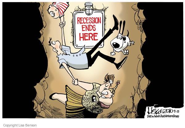 Cartoonist Lisa Benson  Lisa Benson's Editorial Cartoons 2010-09-21 recession