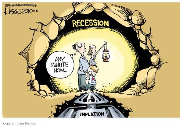Cartoonist Lisa Benson  Lisa Benson's Editorial Cartoons 2010-10-19 recession