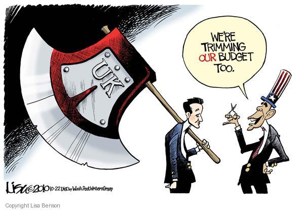Lisa Benson  Lisa Benson's Editorial Cartoons 2010-10-22 federal budget