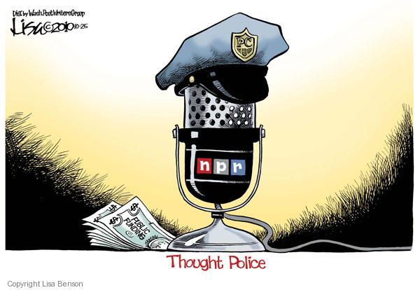 Lisa Benson  Lisa Benson's Editorial Cartoons 2010-10-25 freedom of speech