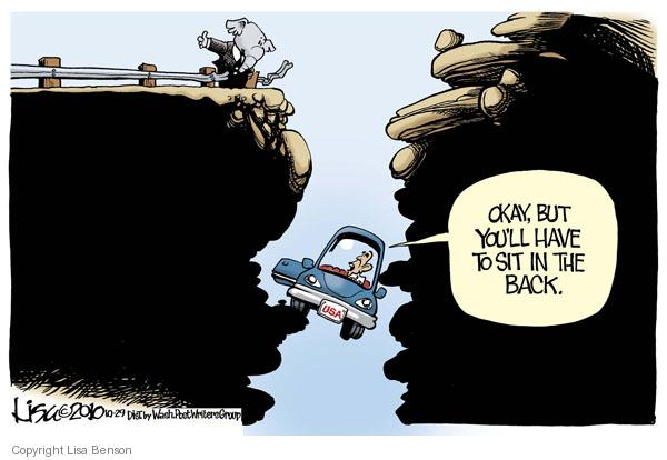 Cartoonist Lisa Benson  Lisa Benson's Editorial Cartoons 2010-10-29 Presidency