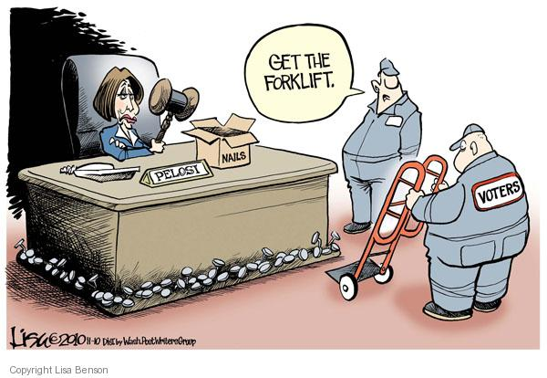 Cartoonist Lisa Benson  Lisa Benson's Editorial Cartoons 2010-11-10 House of Representatives
