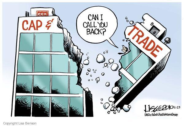 Cartoonist Lisa Benson  Lisa Benson's Editorial Cartoons 2010-11-23 cap and trade