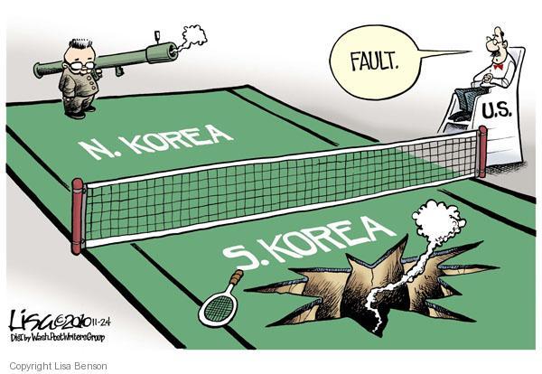 Lisa Benson  Lisa Benson's Editorial Cartoons 2010-11-24 tennis