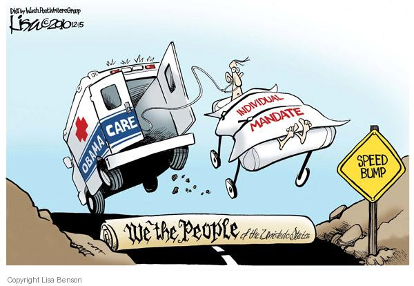 Lisa Benson  Lisa Benson's Editorial Cartoons 2010-12-15 health care reform