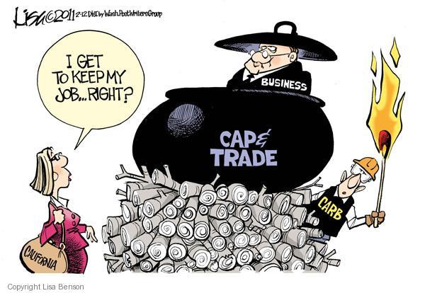Cartoonist Lisa Benson  Lisa Benson's Editorial Cartoons 2011-02-12 cap and trade