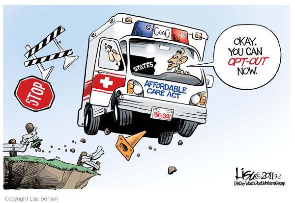 Lisa Benson  Lisa Benson's Editorial Cartoons 2011-03-02 health care reform