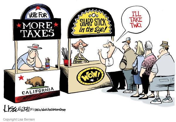 Lisa Benson  Lisa Benson's Editorial Cartoons 2011-03-05 tax