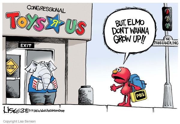 Lisa Benson  Lisa Benson's Editorial Cartoons 2011-03-09 federal