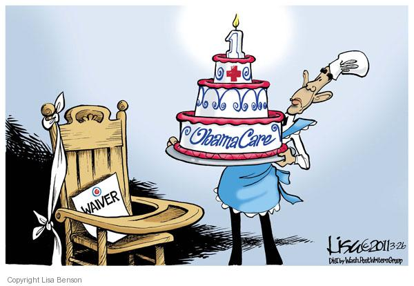 Lisa Benson  Lisa Benson's Editorial Cartoons 2011-03-26 health care reform
