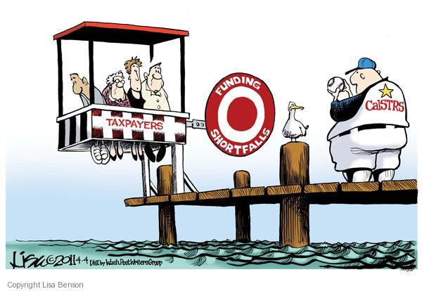 Cartoonist Lisa Benson  Lisa Benson's Editorial Cartoons 2011-04-04 tax liability