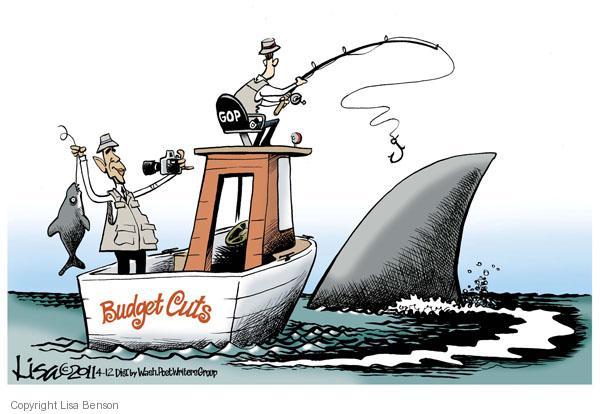 Lisa Benson  Lisa Benson's Editorial Cartoons 2011-04-12 federal budget