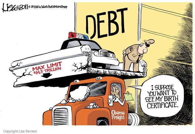 Lisa Benson  Lisa Benson's Editorial Cartoons 2011-04-28 federal budget