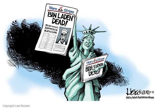 Lisa Benson  Lisa Benson's Editorial Cartoons 2011-05-03 liberty