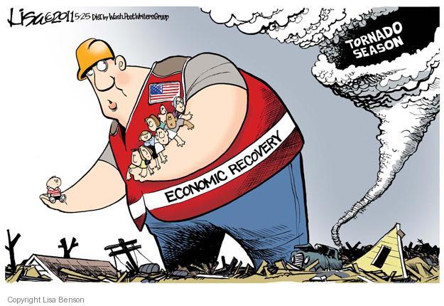 Cartoonist Lisa Benson  Lisa Benson's Editorial Cartoons 2011-05-25 destruction