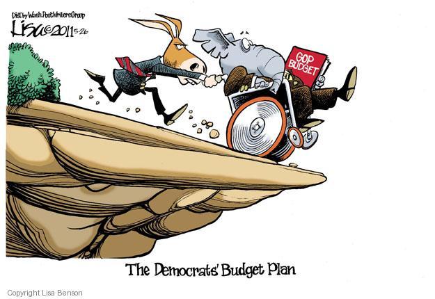 The Democrats Budget Plan. GOP budget.