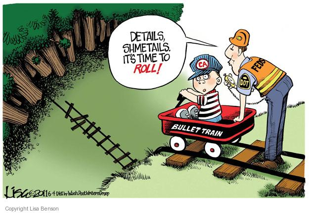 Cartoonist Lisa Benson  Lisa Benson's Editorial Cartoons 2011-06-04 oversight