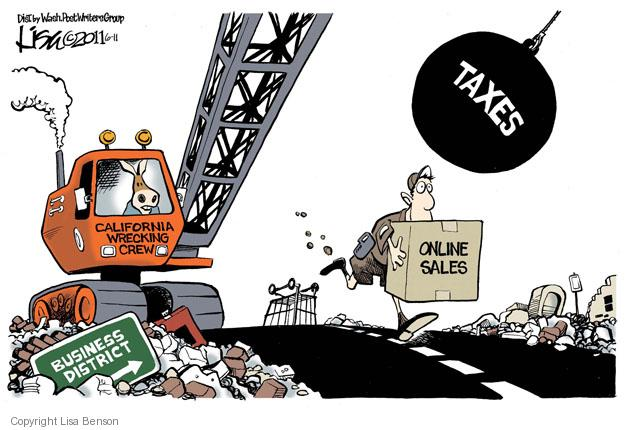Lisa Benson  Lisa Benson's Editorial Cartoons 2011-06-11 tax