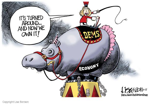 Cartoonist Lisa Benson  Lisa Benson's Editorial Cartoons 2011-06-17 recession