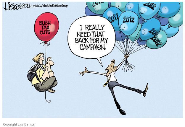 Cartoonist Lisa Benson  Lisa Benson's Editorial Cartoons 2011-07-12 bush