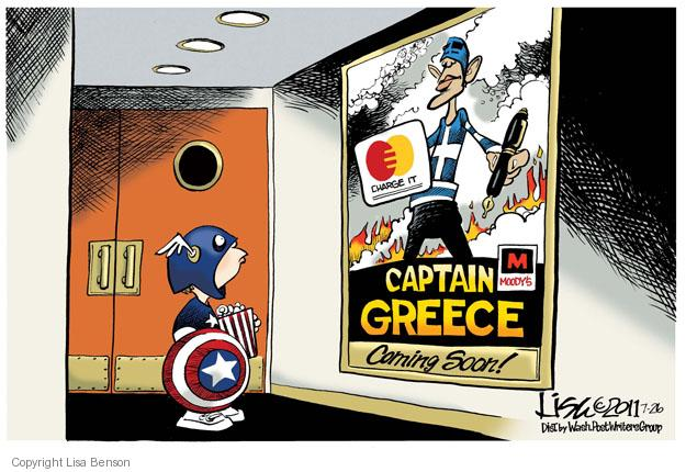 Charge it. Moodys. Captain Greece. Coming soon!