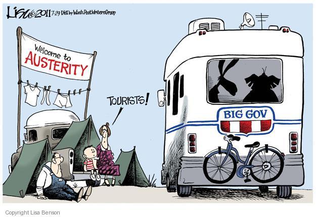 Cartoonist Lisa Benson  Lisa Benson's Editorial Cartoons 2011-07-29 recession