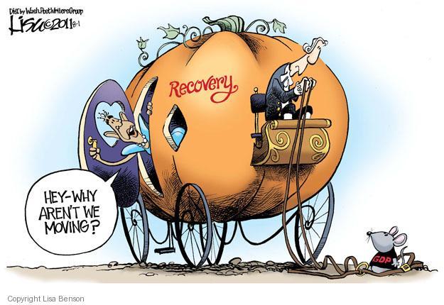 Cartoonist Lisa Benson  Lisa Benson's Editorial Cartoons 2011-08-01 recession