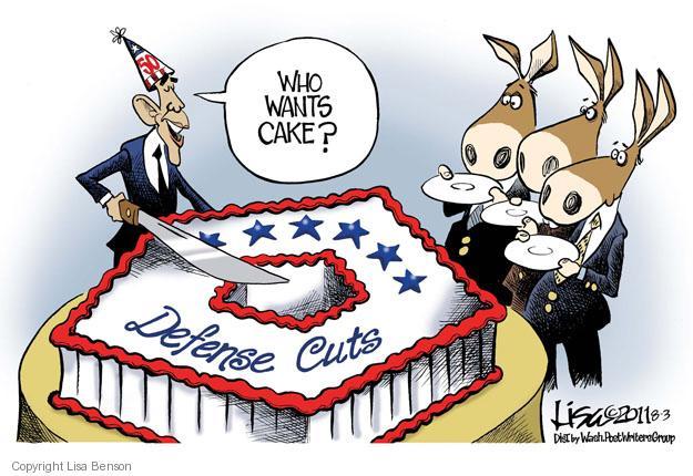 Lisa Benson  Lisa Benson's Editorial Cartoons 2011-08-03 federal budget