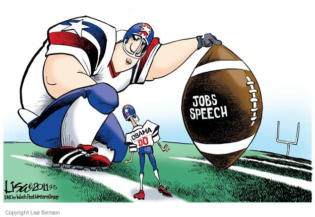 Lisa Benson  Lisa Benson's Editorial Cartoons 2011-09-05 sport