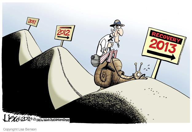 Cartoonist Lisa Benson  Lisa Benson's Editorial Cartoons 2011-09-21 recession