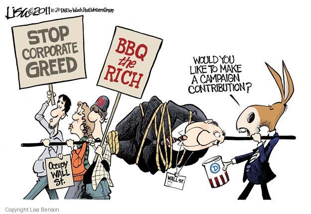 Cartoonist Lisa Benson  Lisa Benson's Editorial Cartoons 2011-10-20 donor