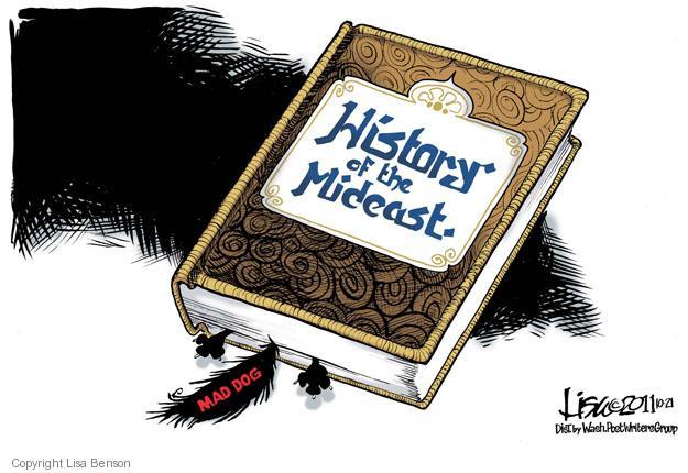 Cartoonist Lisa Benson  Lisa Benson's Editorial Cartoons 2011-10-21 mideast